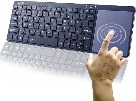 Teclado inalámbrico de metal ultrafino, Gosin® Bluetooth ...