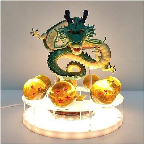 YXX Lámpara de Mesa Dragón Bola Shenron Crystal Ball LED, DIY ...
