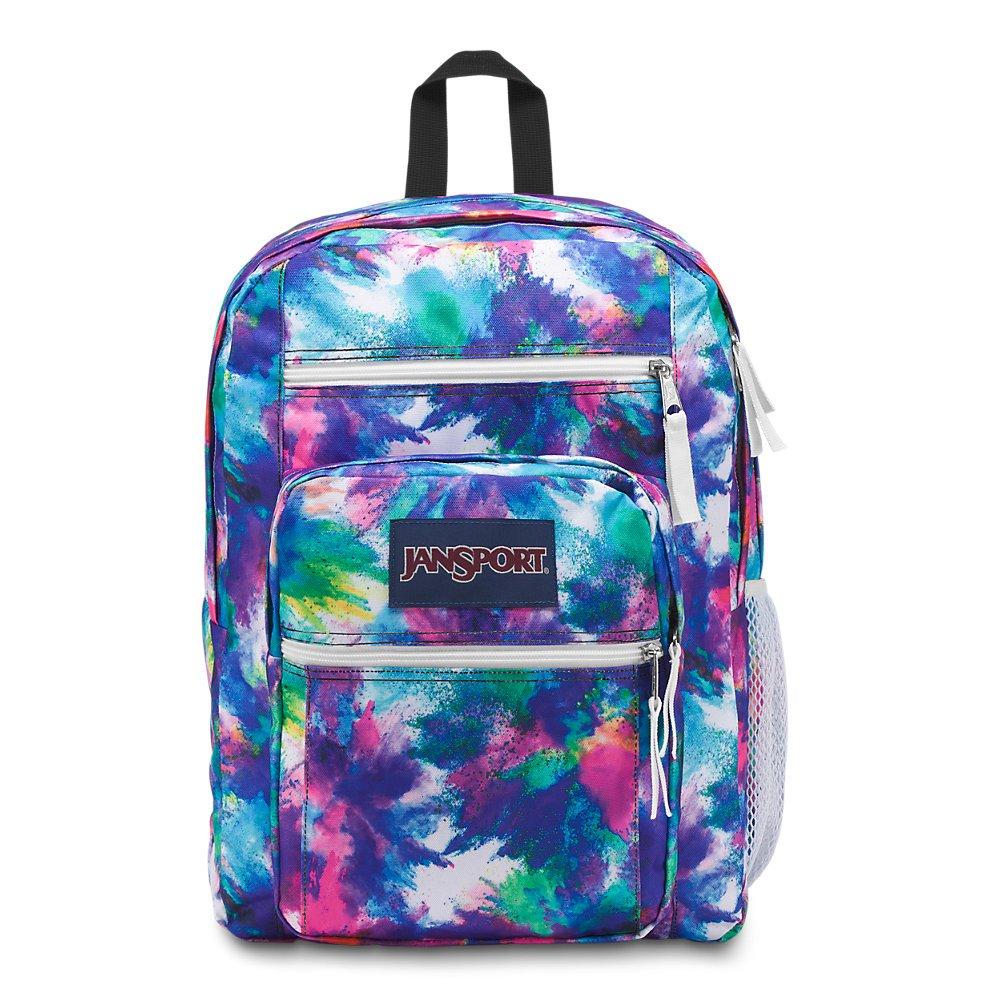 JanSport Unisex Big Student Oversized Backpack Dye Bomb