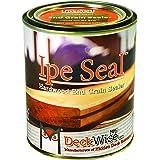 DeckWise Ipe Seal Hardwood End Grain Sealant for Fresh Cut Board Ends or Turning Blanks (1-Quart)