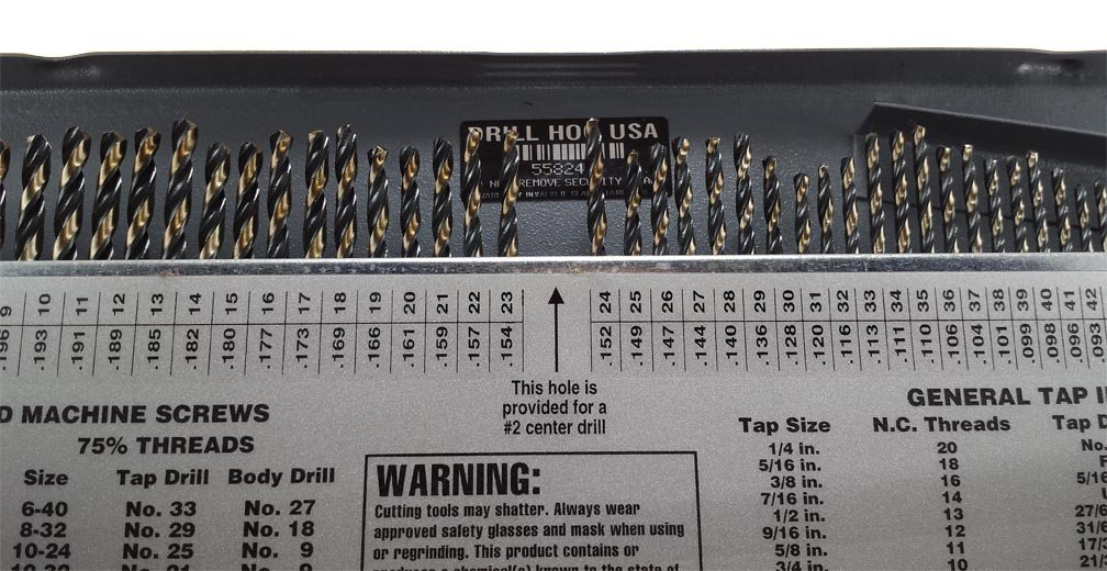 Drill hog 115 pc drill bit set letter number wire gauge m7 lifetime drill hog 115 pc drill bit set letter number wire gauge m7 lifetime warranty usa made amazon industrial scientific greentooth