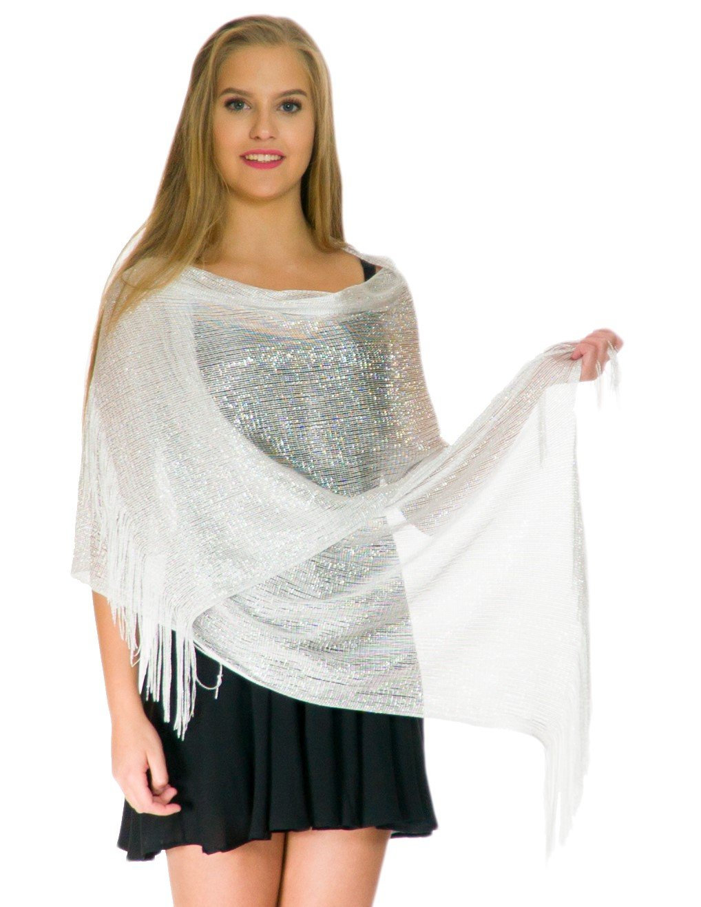 Shawls and Wraps for Evening Dresses, Wedding Shawl Wrap Fringes ...
