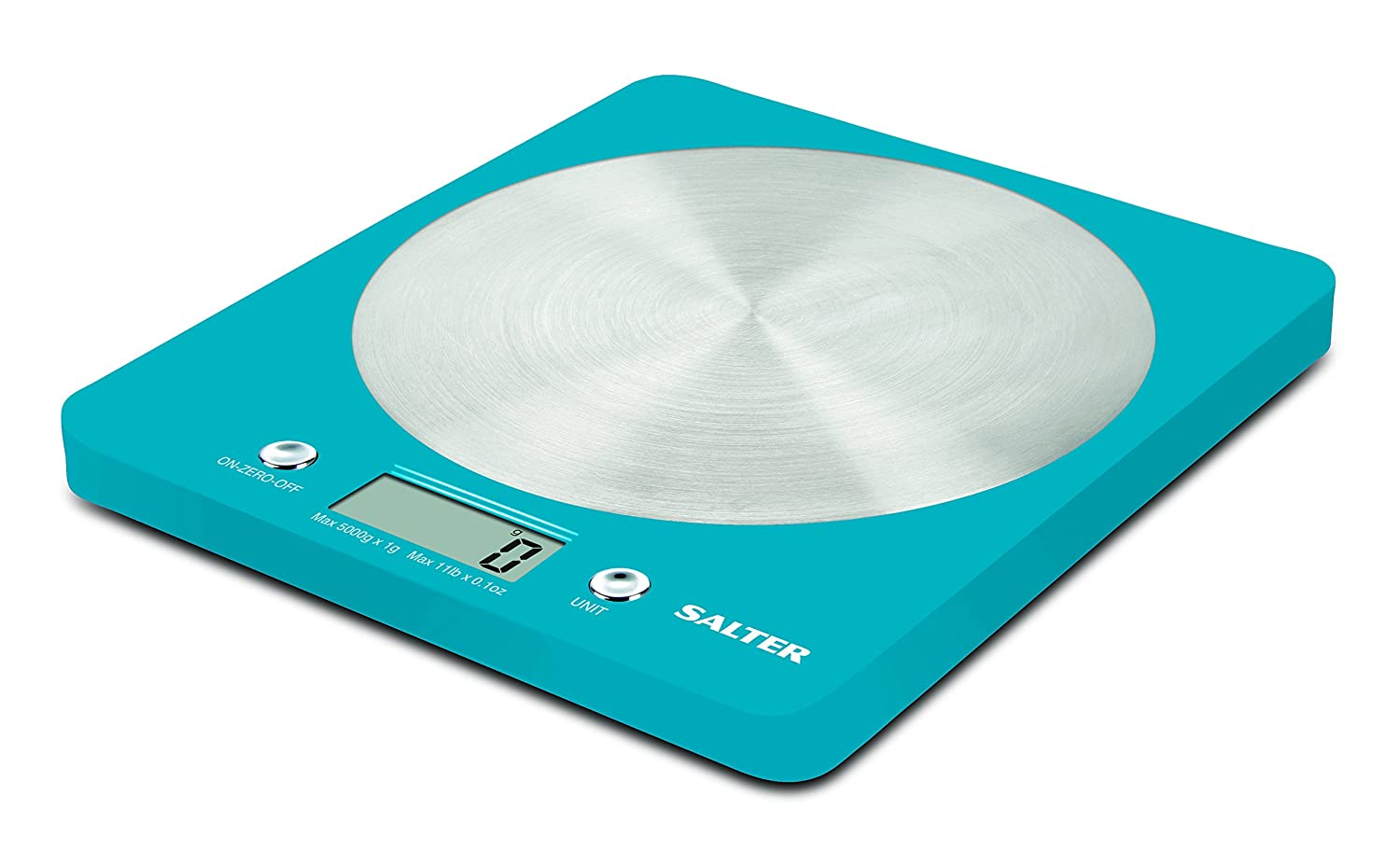 Salter Colour Digital Kitchen Weighing Scales - Slim Colourful ...