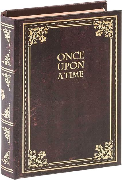Caja con forma de libro Legami Once upon a time: Amazon.es ...