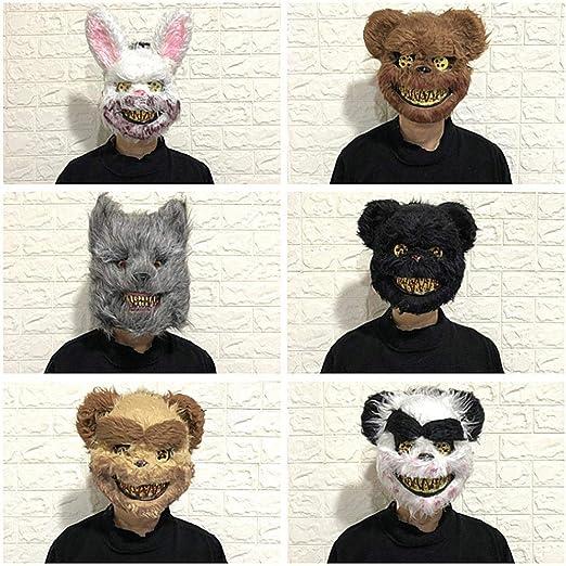 Etuoji Masquerade Horror Scary Headgear Halloween Props Party Suppliers Decorative Masks