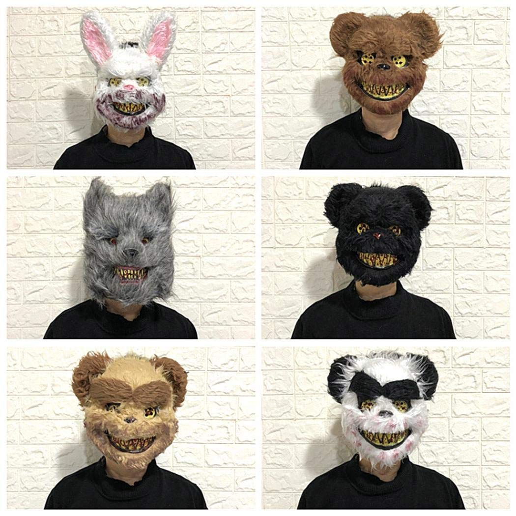Etuoji Masquerade Horror Scary Headgear Halloween Props Party Suppliers Decorative Masks by Etuoji