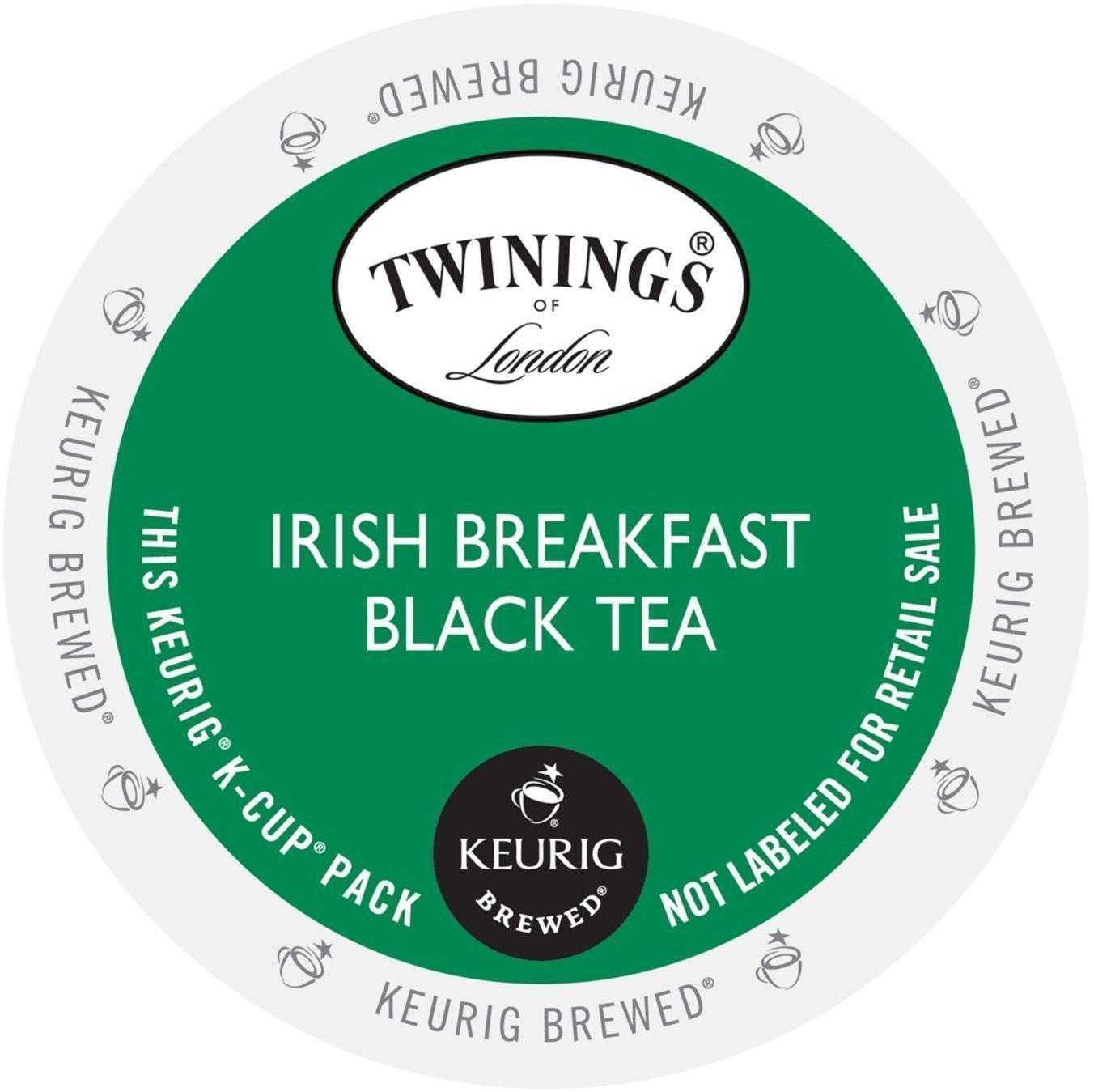TWININGS IRISH BREAKFAST BLACK TEA K-CUPS 96 COUNT by Twinings by Twinings