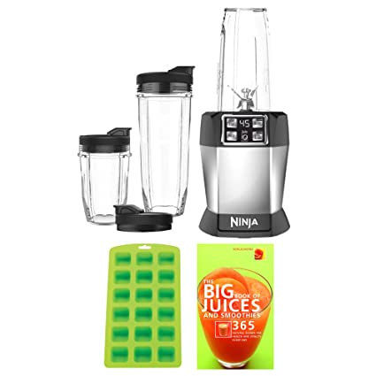 Amazon.com: NINJA BL482 Nutri Ninja Auto-iQ for Smoothies ...