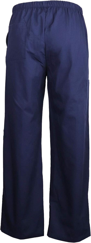 Camerieri JONATHAN UNIFORM Unisex Pantaloni da Lavoro con 4 Tasche per Estetiste Parrucchieri