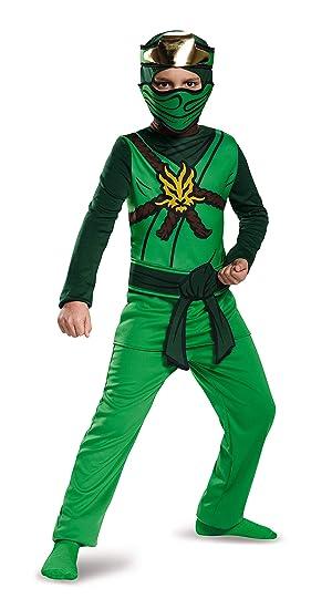 LEGO Ninjago Movie- Classic Lloyd Disfraz, Color verde ...