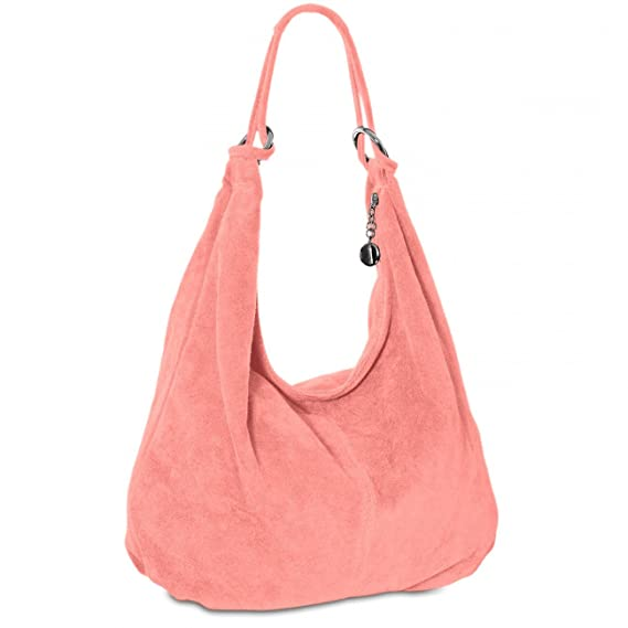 c867a162f6 CASPAR TL617 Women Suede Shoulder Bag