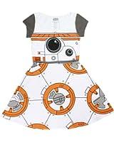 Star Wars I am BB-8 Juniors Cap Sleeved Skater Dress