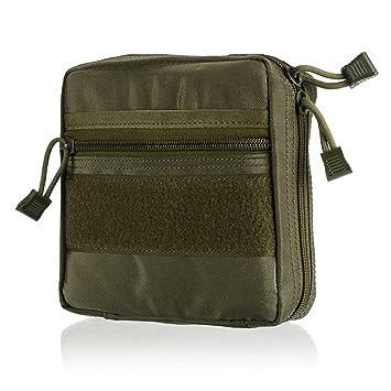 ruifu Tactical Molle Dump Pouch Utilidad Molle accesorio sujeción a mochila, verde: Amazon.es: Deportes y aire libre