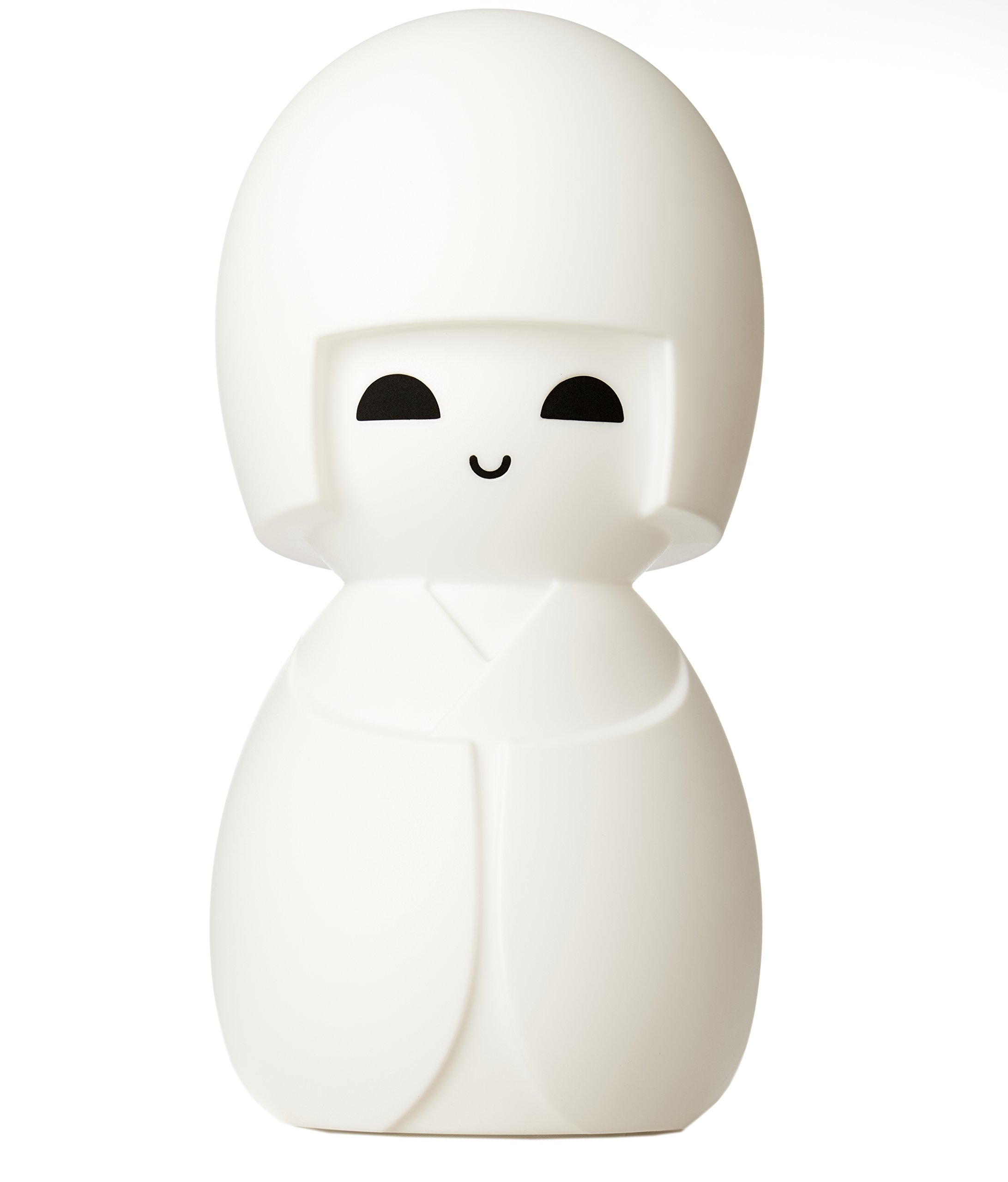 White LED Dimmable Kokeshi Japanise Doll Lamp with Dimmer, 24''H