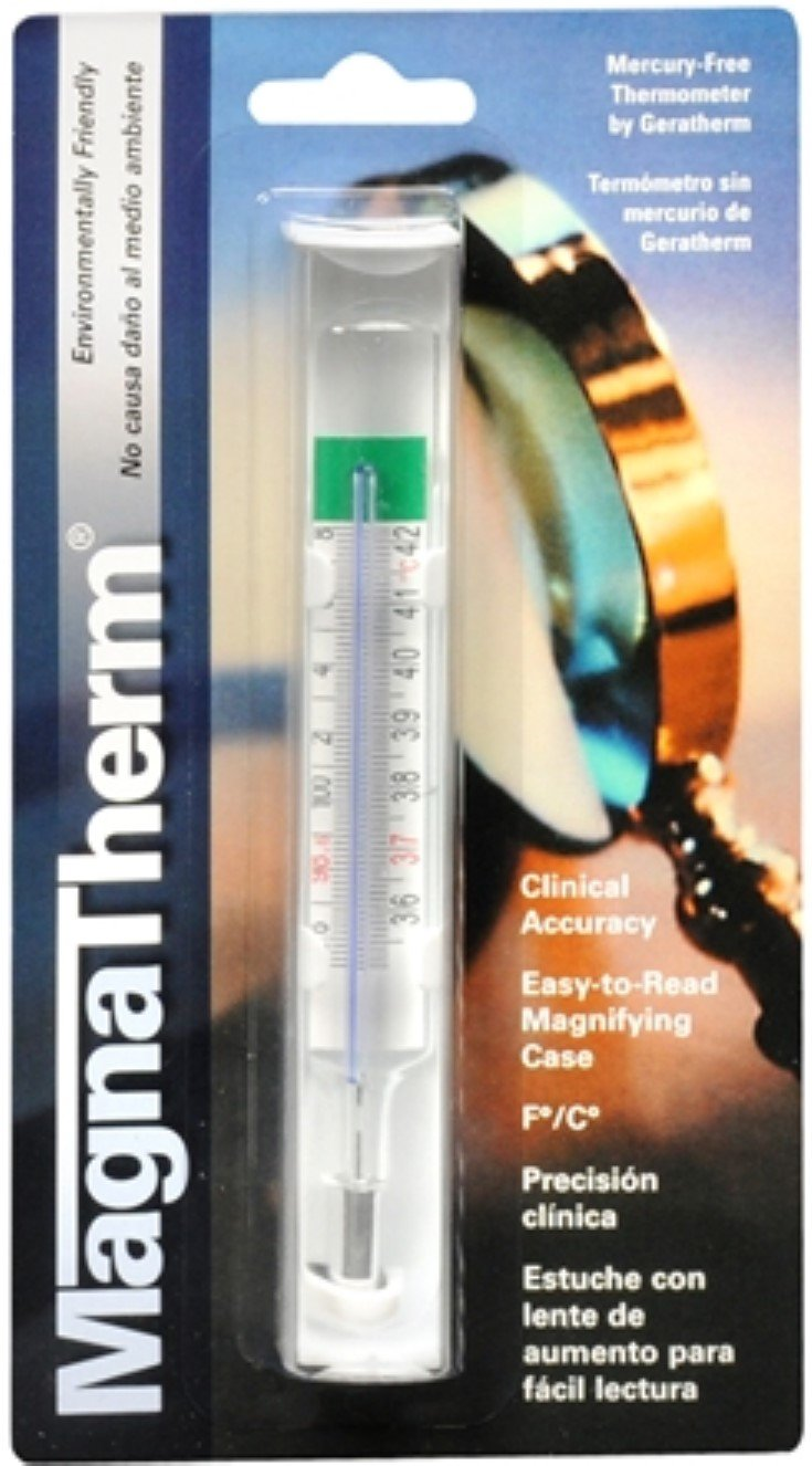 MagnaTherm Thermometer Mercury Free 1 Each (Pack of 11)