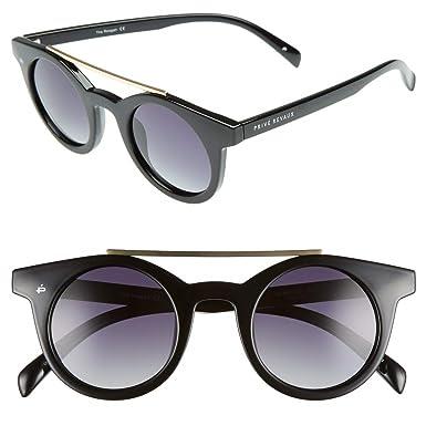 "748b998c07 PRIVÉ REVAUX ICON Collection ""The Reagan"" Designer Round Polarized  Sunglasses"
