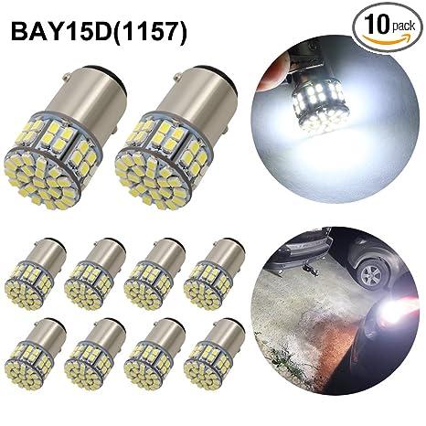 Amazon.com: Boodled - Bombillas LED superbrillantes de color ...
