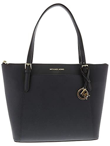 0dc400ccebb8 Amazon.com  Michael Kors Ciara LG Tote Bag Leather Navy (35T8GC6T9L ...