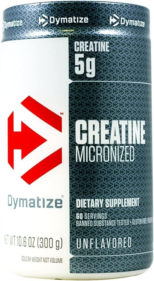 Dymatize Creatine Micronized Unflavored 10.6 oz 300g