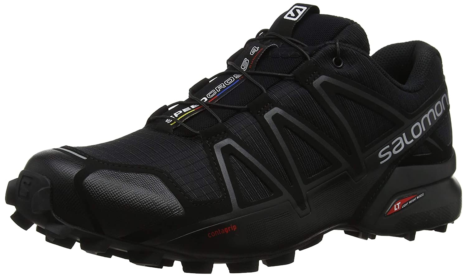 a2c4d77f44b64a Amazon.com | Salomon Men's Speedcross 4 Trail Running Shoes | Trail Running