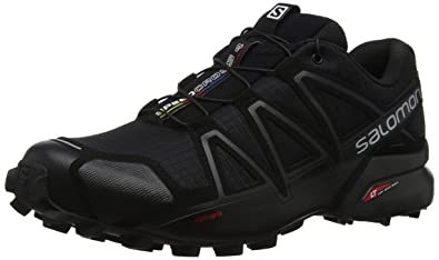newest collection ff2c0 c7218 Salomon Men s Speedcross 4 Trail Runner, Black A1U8, ...
