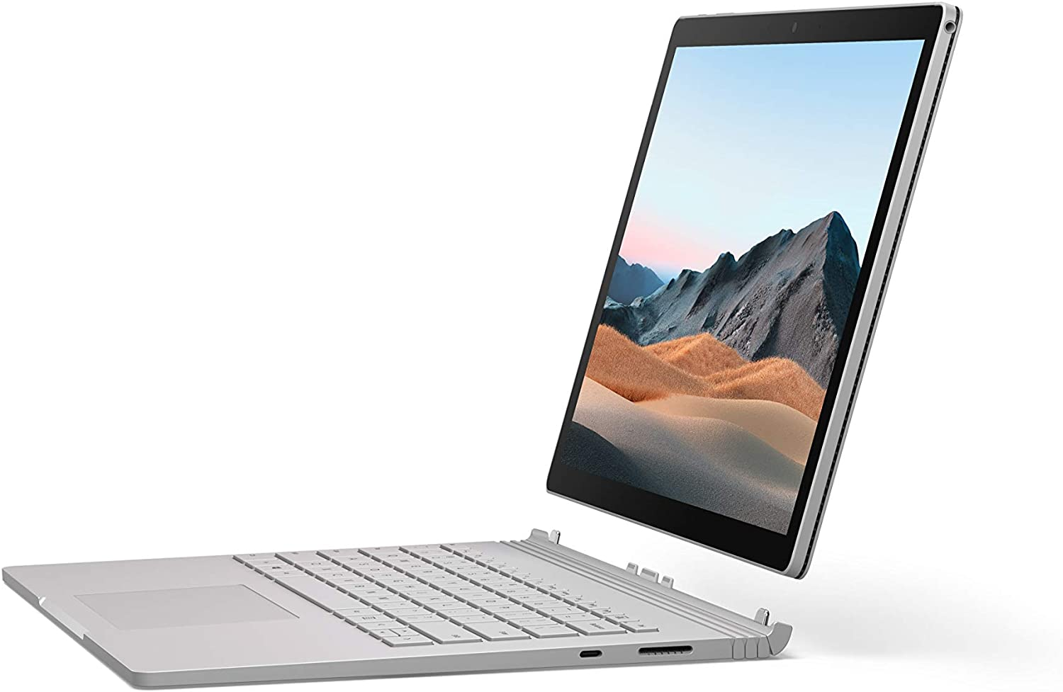 "NEW Microsoft Surface Book 3 - 13.5"" Touch-Screen - 10th Gen Intel Core i7 - 16GB Memory - 256GB SSD (Latest Model) - Platinum"