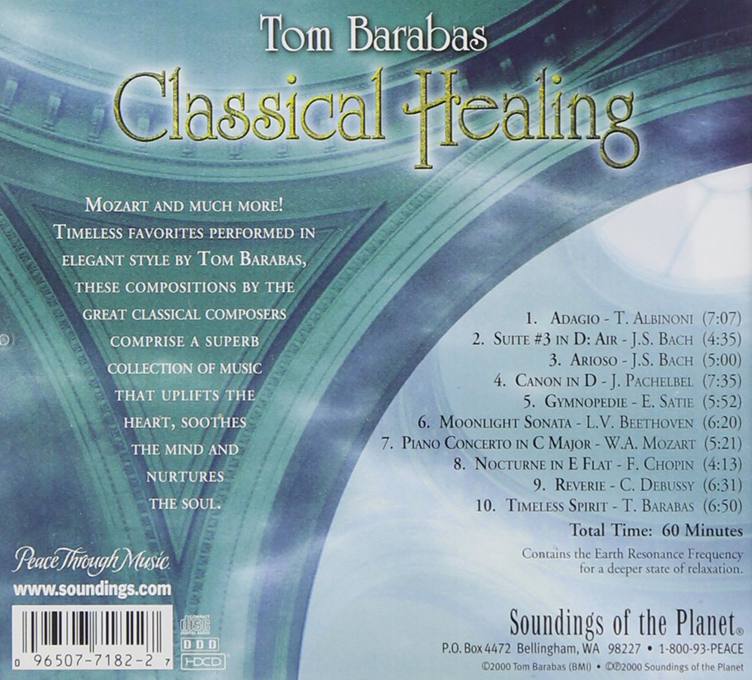 Classical Healing / Various by Soundings of Planet