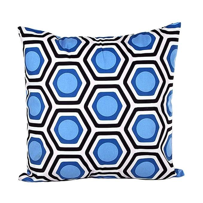 Odejoy Geometrisch Gestalten Kissenfall Sofa Bett Zuhause Dekor