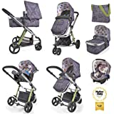 Cosatto Giggle 2 Travel System with Group 0+ Car Seat (Dawn Chorus)