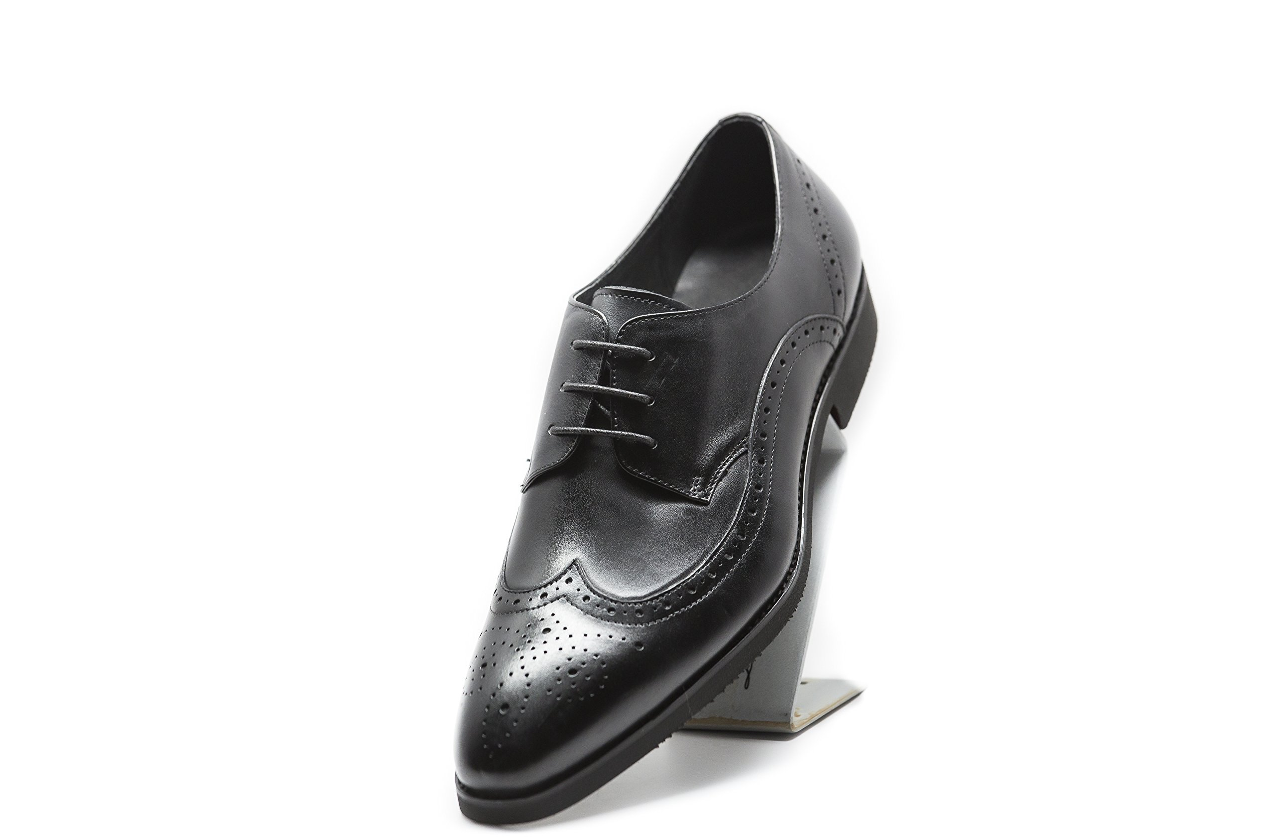 Crater (9, black) by Liam Michael Shoes