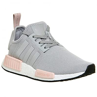 Light grey and baby pink NMD