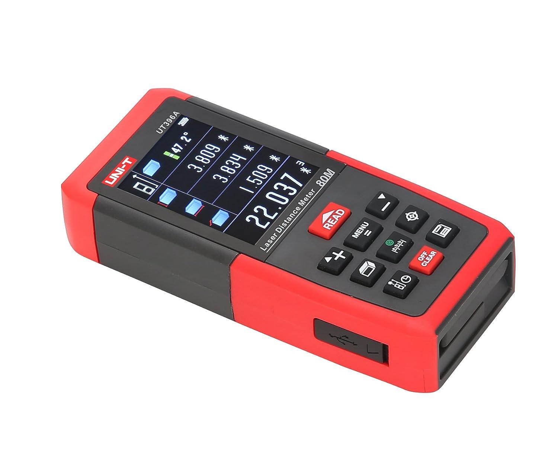 Laser Entfernungsmesser Mit Usb Anschluss : Uni t laser entfernungsmesser m distanzmessgerät ut a