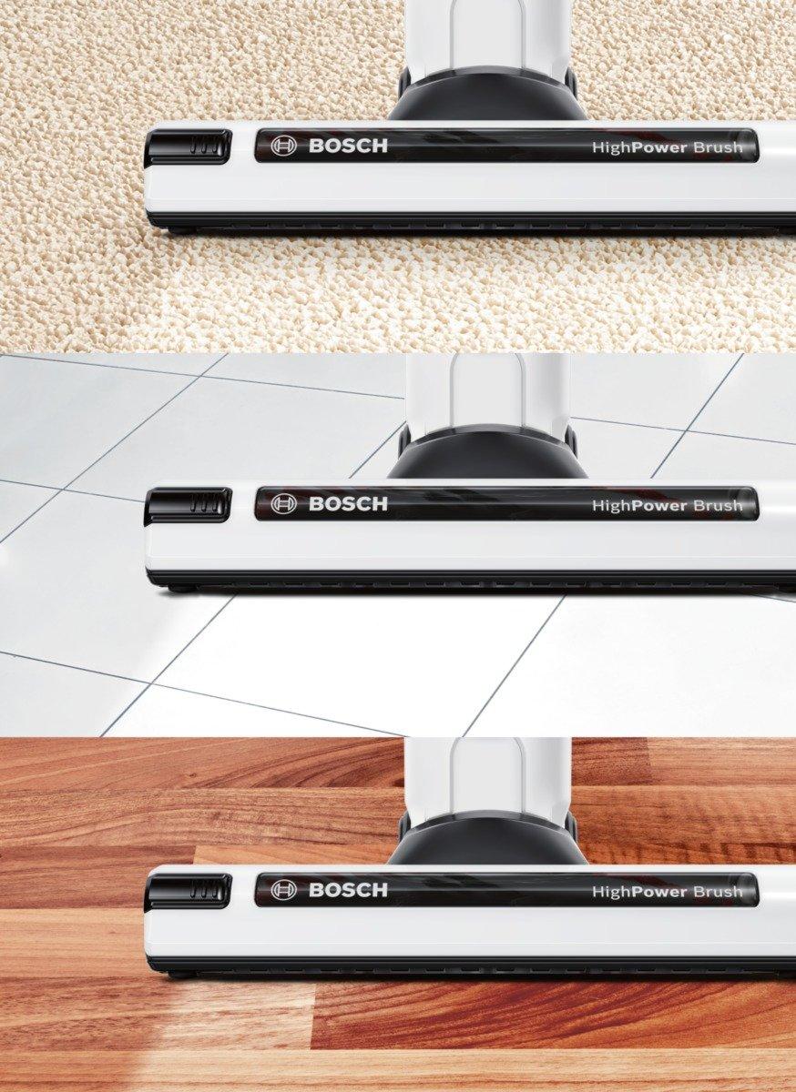 Lithium-Ion Bianco Nero Bosch BBH52550 scopa elettrica Argento Li-Ion Senza Sacco