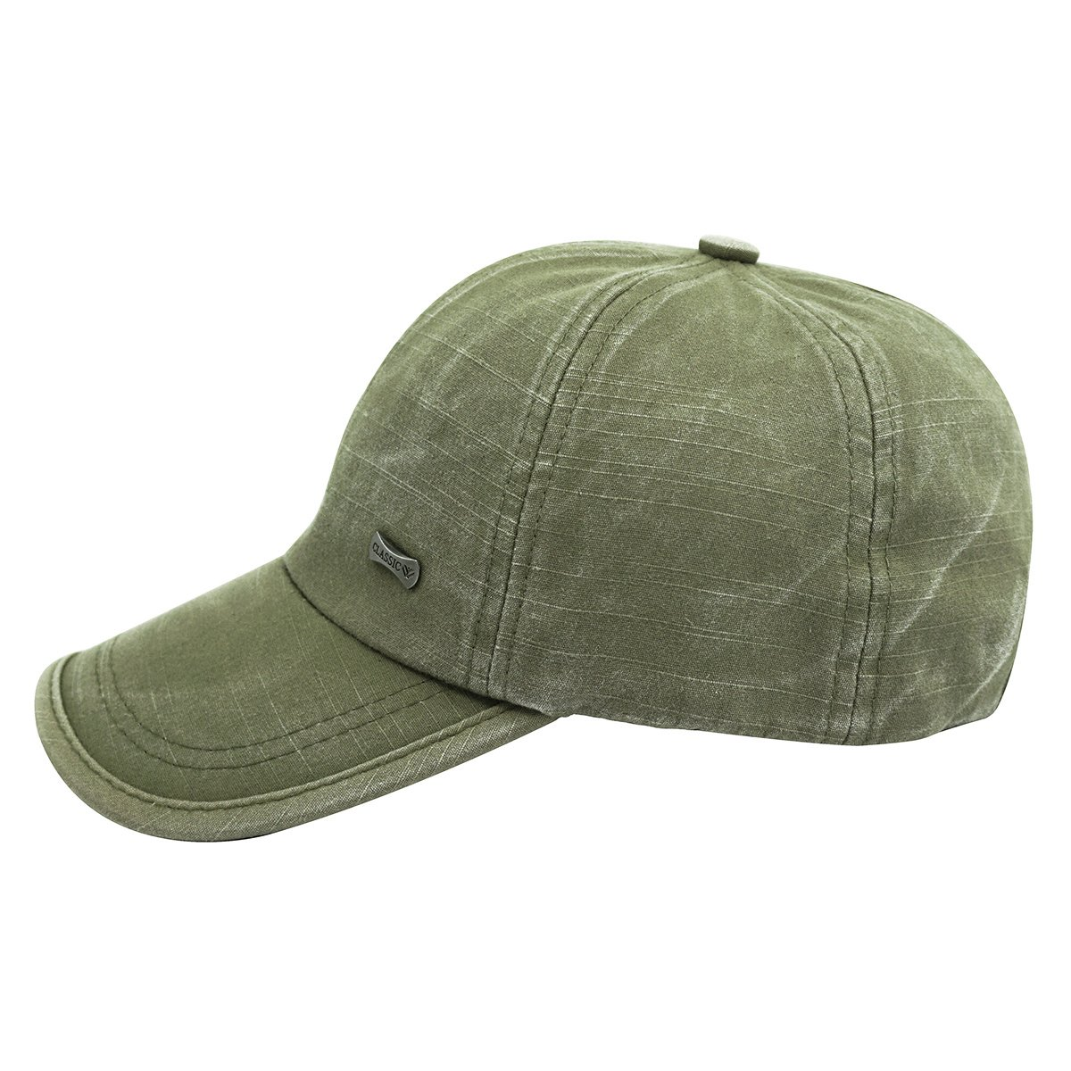 fb96a0aa8e1 Glamorstar Trendy Baseball Caps Adjustable Distressed Washed Cotton Ball  Hat Army Green at Amazon Women s Clothing store