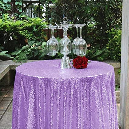 43181522b9e1 Image Unavailable. Image not available for. Color  Sequin Tablecloth Glitz  Table Linens Cover for Wedding Birthday Party ...