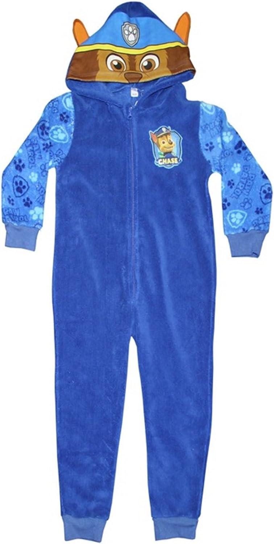 Boys Onesie Hooded Paw Patrol Pyjamas 2-6 Years
