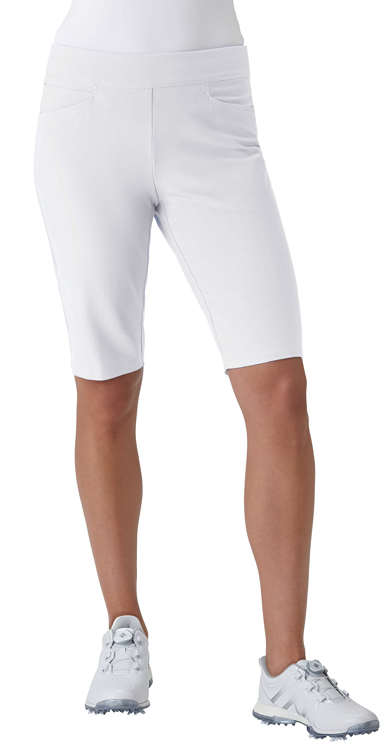 adidas Golf Women's Adistar Bermuda Shorts, White, X-Large