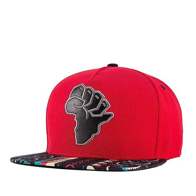 Botia Hombre Mujer Sombreros de acrílico Bordados Snapback Street Dance Hip Hop Cap Gorras de Béisbol: Amazon.es: Ropa y accesorios