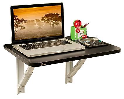Wudore Compacto Urban Homes EWT-FW-T01 Wall Mounted Folding Laptop Table (Black)