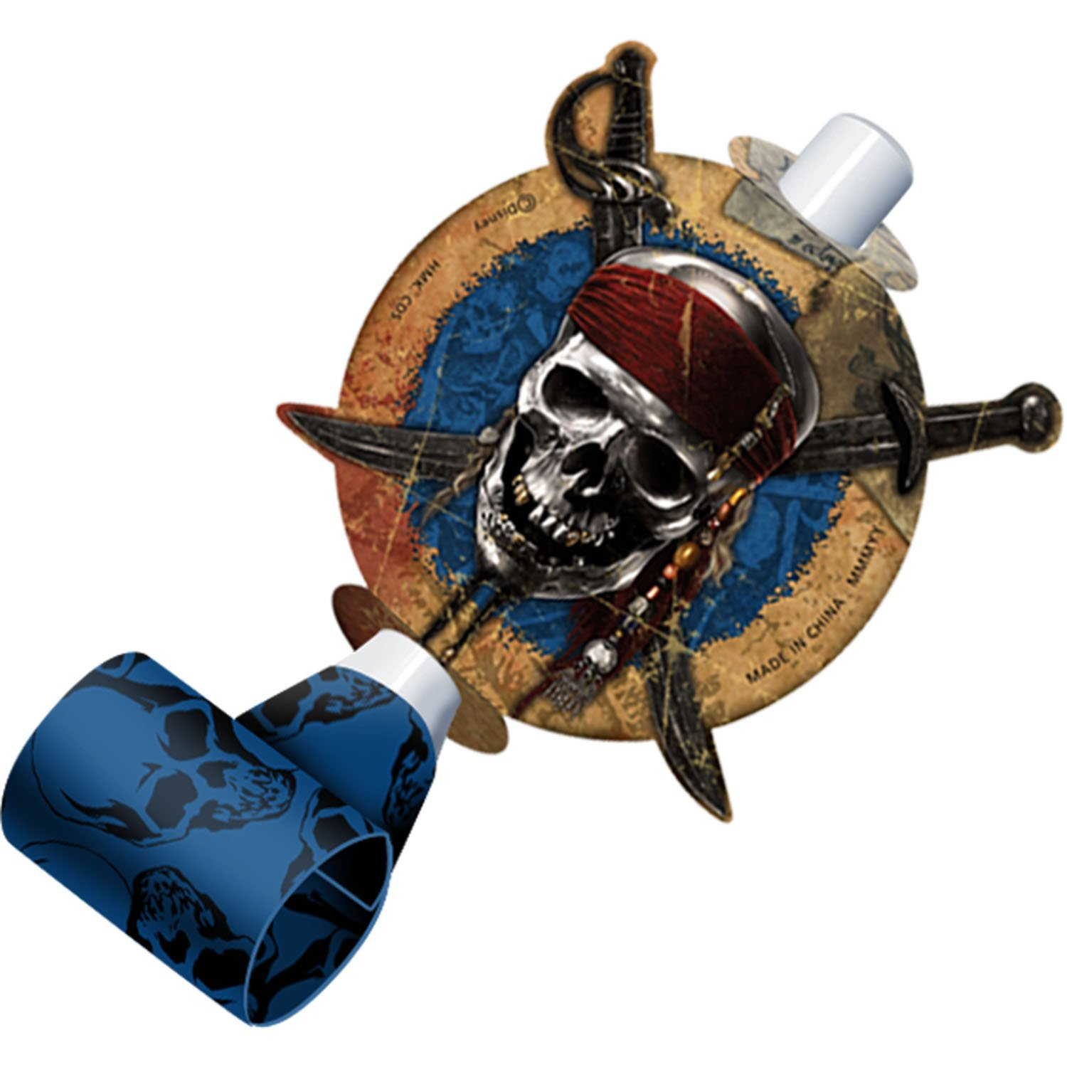 8ct Pirates of the Caribbean On Stranger Tides Party Blowouts Favors