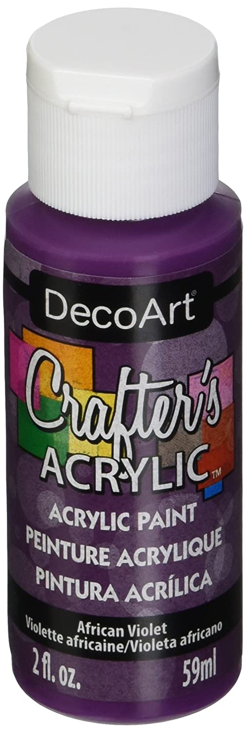 DecoArt Crafter's Acrylic Paint, 2-Ounce, Bright Red DCA22-3