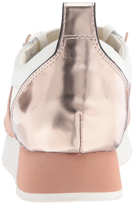 Dolce Vita Women's Yana Sneaker B07211JV69 7.5 B(M) US|White/Nude Leather