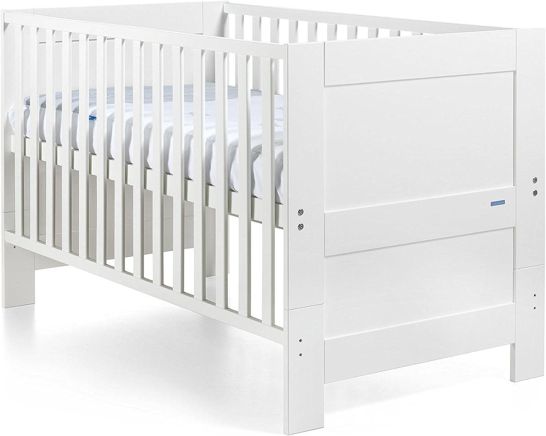 Cotinfant blanco Cuna//cama de madera europa 140 x 70 cm.
