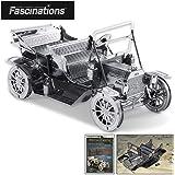 [Fascinations]Fascinations Metal Earth 1908 Ford Model T 3D Metal Model Kit MMS051 [並行輸入品]