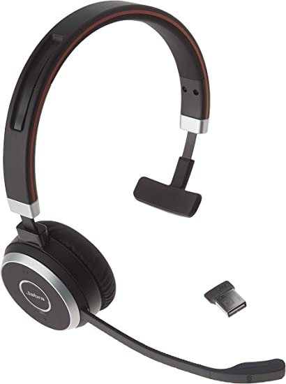 Jabra Evolve 65 Ms Wireless Headset Mono Includes Link 370 Usb Adapter Bluetooth Headset With Industry Leading Wireless Performance Passive Noise Cancellation All Day Battery Amazon Ca Cell Phones Accessories