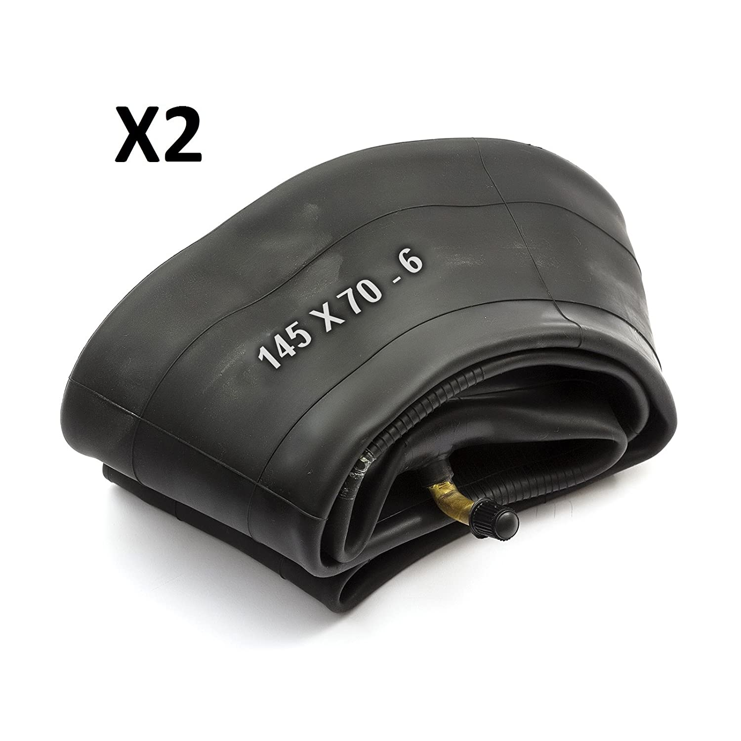 2 X Innertube 145x7.00-6 145x70-6 4.00-6 5.00-6 4.00/5.00-6 13x5.00-6 Sit Down Lawnmower 6 inch 6'' Countax Westwood 90 Degree Bent Valve Schradar PetrolScooter