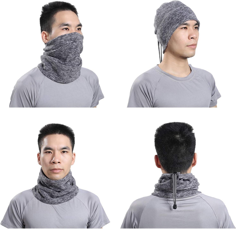 Unisex Warm Face Mask Sciarpa Scaldacollo Thermal Beanie Balaclava Hood per Ciclismo//Snowboard//Sci//Running con Cinturino Regolabile TAGVO Scaldacollo Invernale in Pile