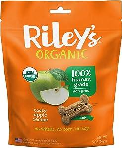 Riley'S Organics Apple Bone, Large, 5 Oz.