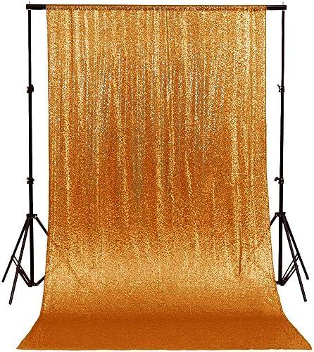 Sequin Backdrop 8x8ft Sequin Curtain Backdrop Gold Sequin Curtains Panel Wedding Backdrop Curtains Glitter Backdrops