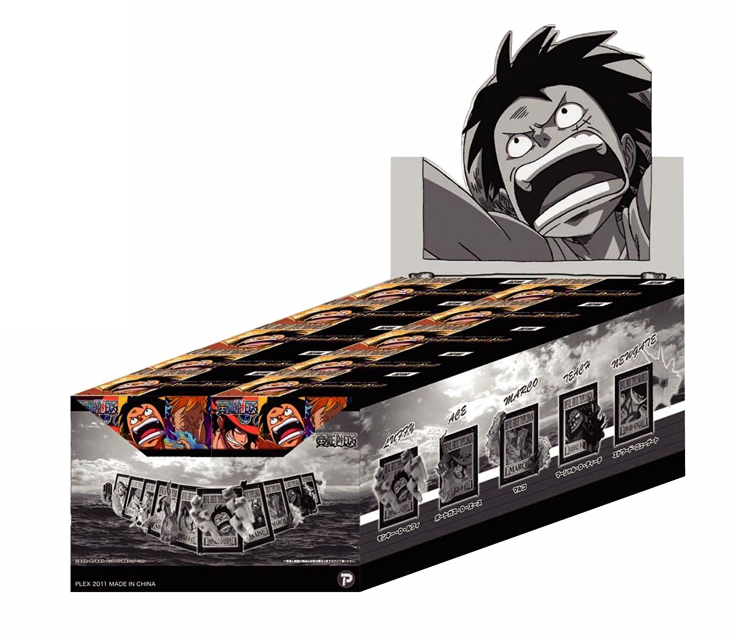 One Piece Frame Collection The Power of Devil Fruit (Case of 10 ...
